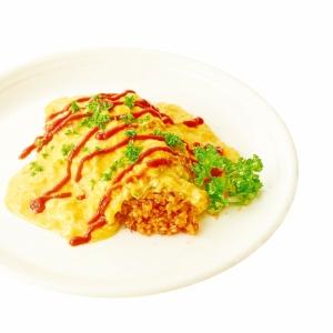 玄米のシンプルノンエッグオムライス