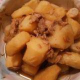 我が家の味☆里芋とツナの煮物♪
