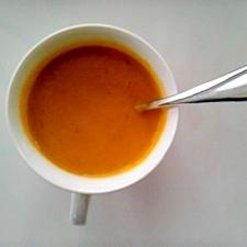 ブロッコリーとカボチャのスープ