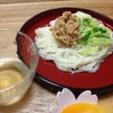 離乳食☆納豆素麺
