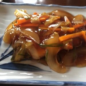 めかじきの野菜あんかけ