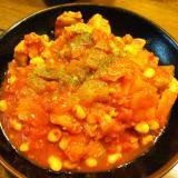 簡単 鶏肉トマト煮