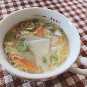 ワンタンたまごスープ