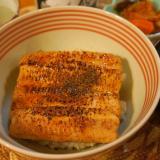 大穴子でふわっふわの煮穴子丼