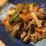 豚肉と野菜のトッポギ