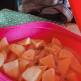 レトルト活用クラムチャウダースープ