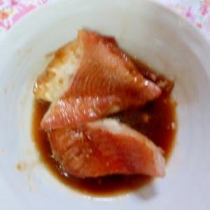 冷凍赤魚の煮付け♪