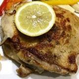 簡単!鶏肉のバジルレモン焼き
