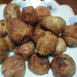 里芋のコロコロ揚げ