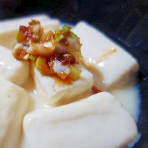 とろとろ湯豆腐からの豚しゃぶ!