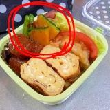 【お弁当おかず】彩りに♪かぼちゃのカリっと焼き♪