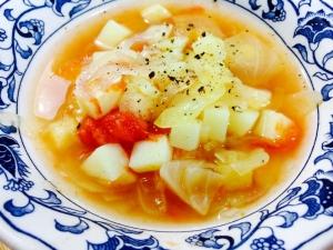【ガサツ料理】熟れすぎたトマトでとりあえずスープ