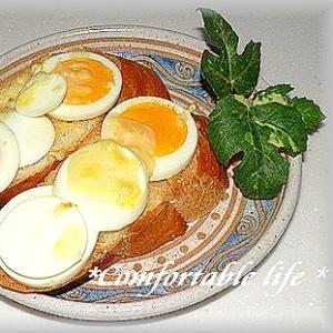 """★""""卵とチーズのバゲットサンド"""