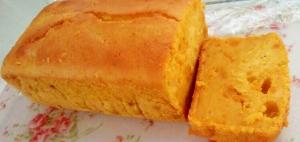 しっとり美味しい♡カボチャのパウンドケーキ●彡