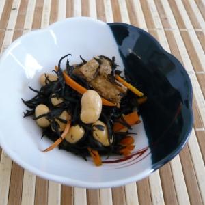 大豆とひじきの煮物