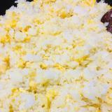 材料2つ!卵チャーハン