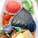 幼稚園のお弁当★爆弾おにぎり弁当