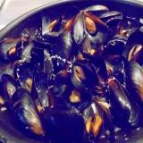 ムール貝のガーリックバター