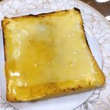 優しい甘さのチーズはちみつトースト