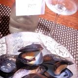 おうちバル、ムール貝の日本酒蒸し