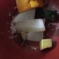 離乳食 サツマイモと大根と南瓜のカツオ出汁煮