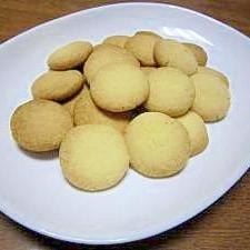 材料3つだけで☆サクサクとっても美味しいクッキー