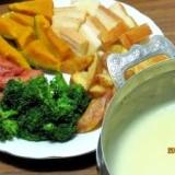 チーズフォンデュ (我が家の味)