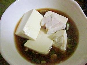 あったか湯豆腐のおだし