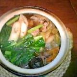 東北の郷土料理の王道☆簡単鶏肉のきりたんぽ鍋