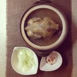 寒い冬に。本格参鶏湯