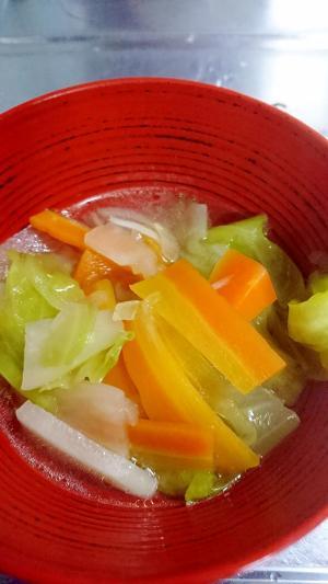 ★野菜たっぷり★中華スープ!