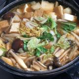 豆腐のキムチ鍋