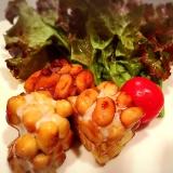 テンペの生姜焼き
