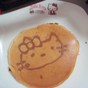 簡単!お絵かきホットケーキ
