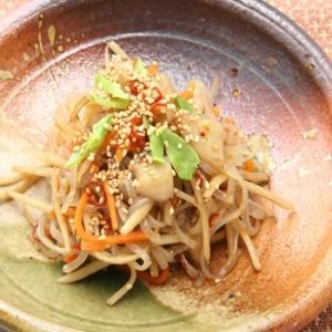 半分主食 韓国風こんにゃくきんぴら焼麺