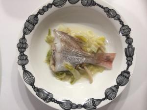 鯛の簡単☆蒸し煮!