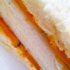 カボチャのサンドイッチ