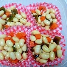 ☆レンジで簡単☆煮豆☆お弁当にも♪