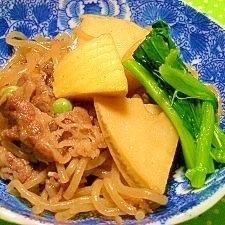 郷土食☆孟宗筍と牛肉の煮物