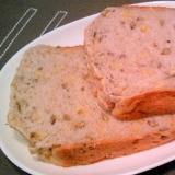 HBでレンズ豆・チーズ食パン