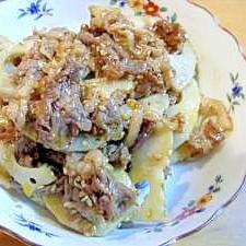 牛肉とレンコンのピリ辛オイスター炒め