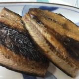 シンプル♪シンプル♪秋刀魚の干物(*^^*)☆