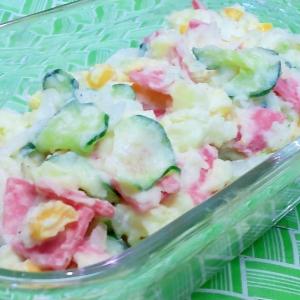 酢玉ねぎ活用♪ポテトサラダ