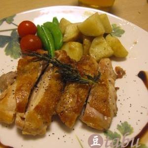 簡単イタリアン!鶏肉のハーブ焼き