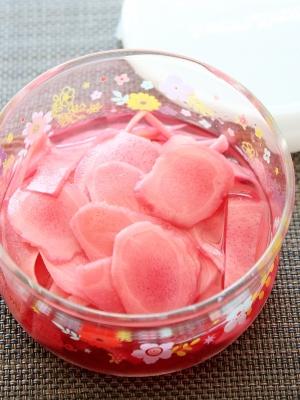 新生姜の梅酢漬け