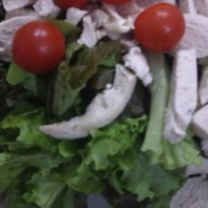 にんにく風味の茹で鶏サラダ(о´∀`о)