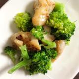 鶏胸肉とブロッコリーのサラダ