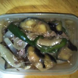 夏野菜と牛の味噌炒め