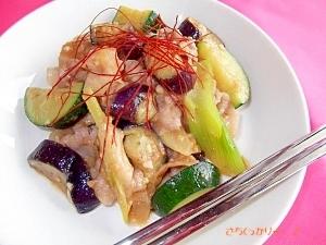 テンジャン味噌で★韓国風「野菜炒め」