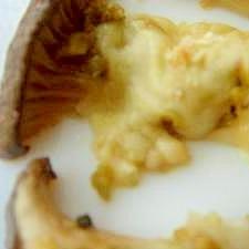 エリンギのオリーブチーズ焼き